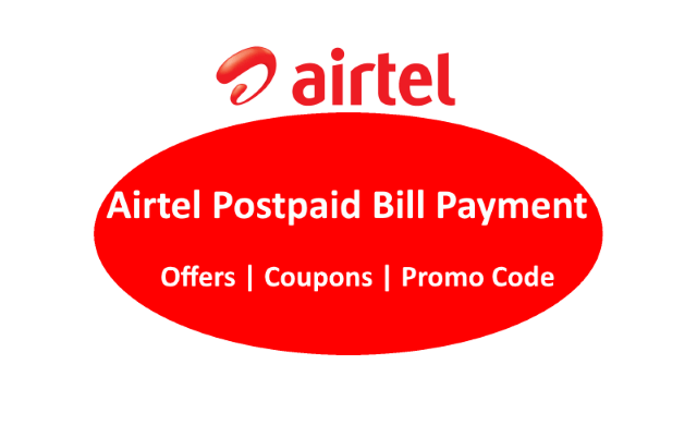 Discount coupons for airtel postpaid bill payment