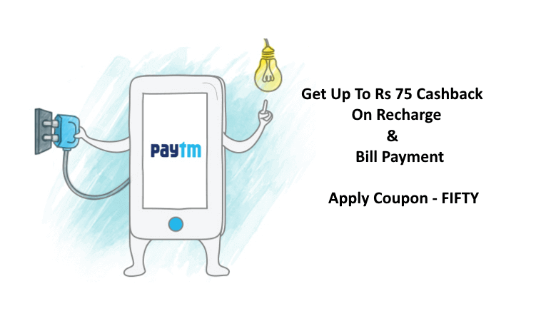 Paytm coupons for recharge above 500