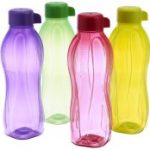 Amazon – Buy Tupperware Aquasafe Water Bottle Set, 500ml, Set of 4 (0.5L) for just Rs.358