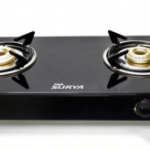 (Price up) Pepperfry – Buy Fabsurya 2 Burner 7 MM Toughened Glass Top Gas Stove at Rs 813