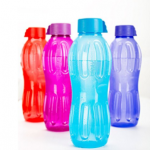 (App only) Amazon – Buy Signoraware Aqua Water Bottle Set, 1 Litre,Set of 4, Multicolour at Rs.200 only