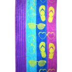 Amazon- Buy Bombay Dyeing Marina Dyed 400 GSM Cotton Pool Towel – Multicolour at Rs 443