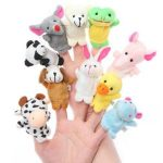 Amazon- Buy Kuhu Creations Animal Finger Puppet, Multi Color (Pack of 10) at Rs 211