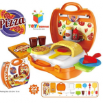 Amazon – Buy Toys Bhoomi Kids Bring Along Pizza Oven Suitcase Set – 22 Pieces at Rs.448 only