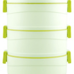 Amazon – Buy Cello Amaze Insulated 3 Container Lunch Carrier, Green at Rs.374 only