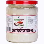 Amazon – Buy Hathmic Raw Extra Virgin Cold Pressed Coconut Oil, 500ml  at Rs 342