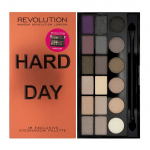 (Price up) Amazon – Buy Makeup Revolution Salvation Palette Hard Day, 13g  for just Rs.364