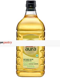 saffola Aura Refined Olive and Flaxseed Oil,2L with 50% discount
