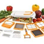 Amazon – Buy Amiraj 12-in-1 Quick Dicer Set, 13-Pieces, White/Orange at Rs.328 only