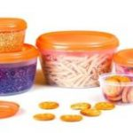 Amazon – Buy Cello Fabby Container Set, 5-Pieces, Orange at Rs.150 only