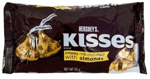 Hershey's Extra Creamy Kisses with Almonds, 315g
