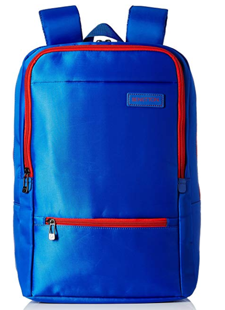United Colors of Benetton 27 Ltrs Blue Casual Backpack